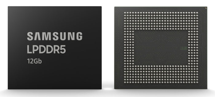 Samsung 12Gb LPDDR5 DRAM