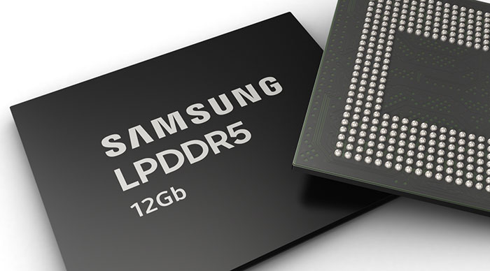 Samsung 12Gb LPDDR5 mobilni DRAM